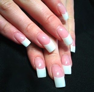 How creative can you be with french manicure | Nails@HomeSg